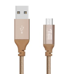 TechElec Micro USB Cable-Gold